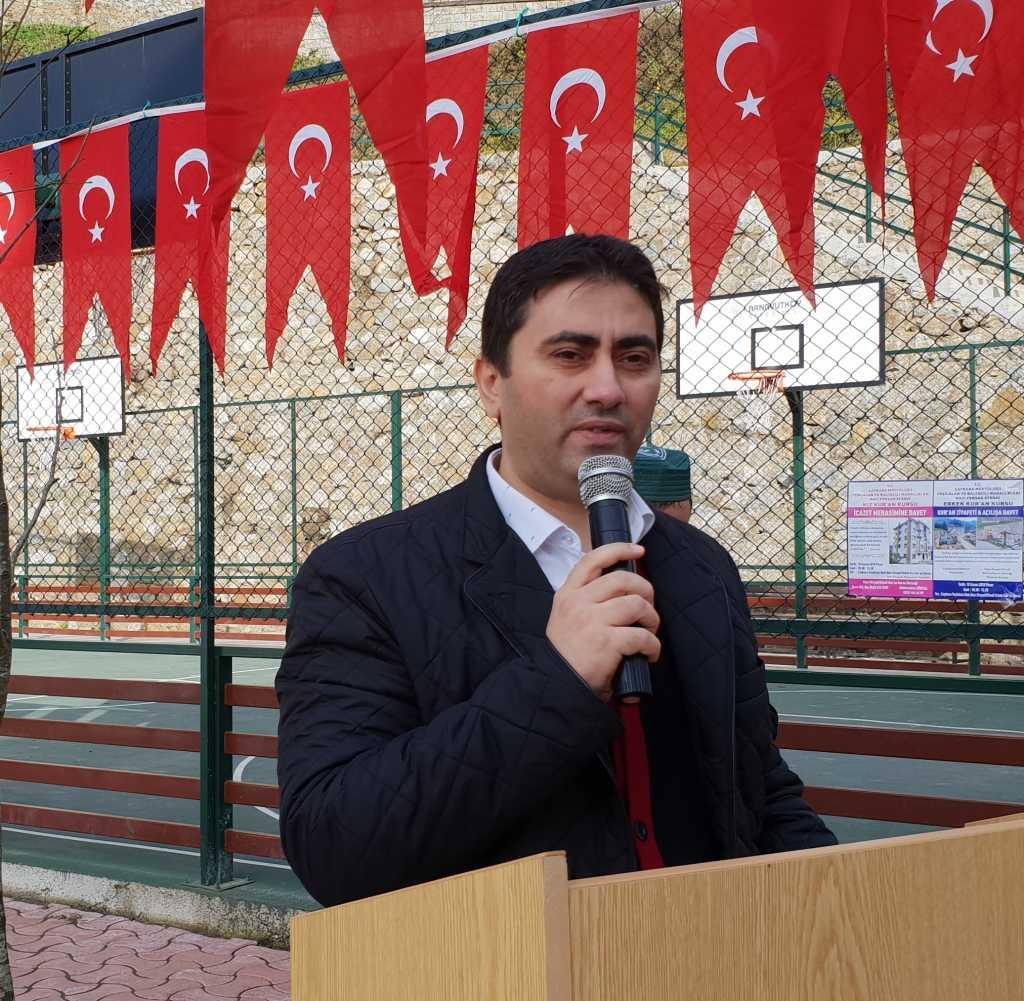 Kur'an kursuna ait modern spor sahası ve oyun parkının açılısı yapıldı 4