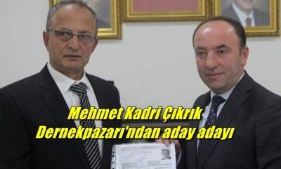 İş adamı Mehmet Kadri Çıkrık Dernekpazarı için aday adayı başvurusunda bulundu