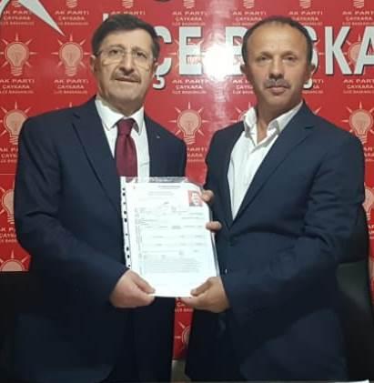 Eski Belediye Başkanı Namık Kemal Gedikoğlu aday adayı 1