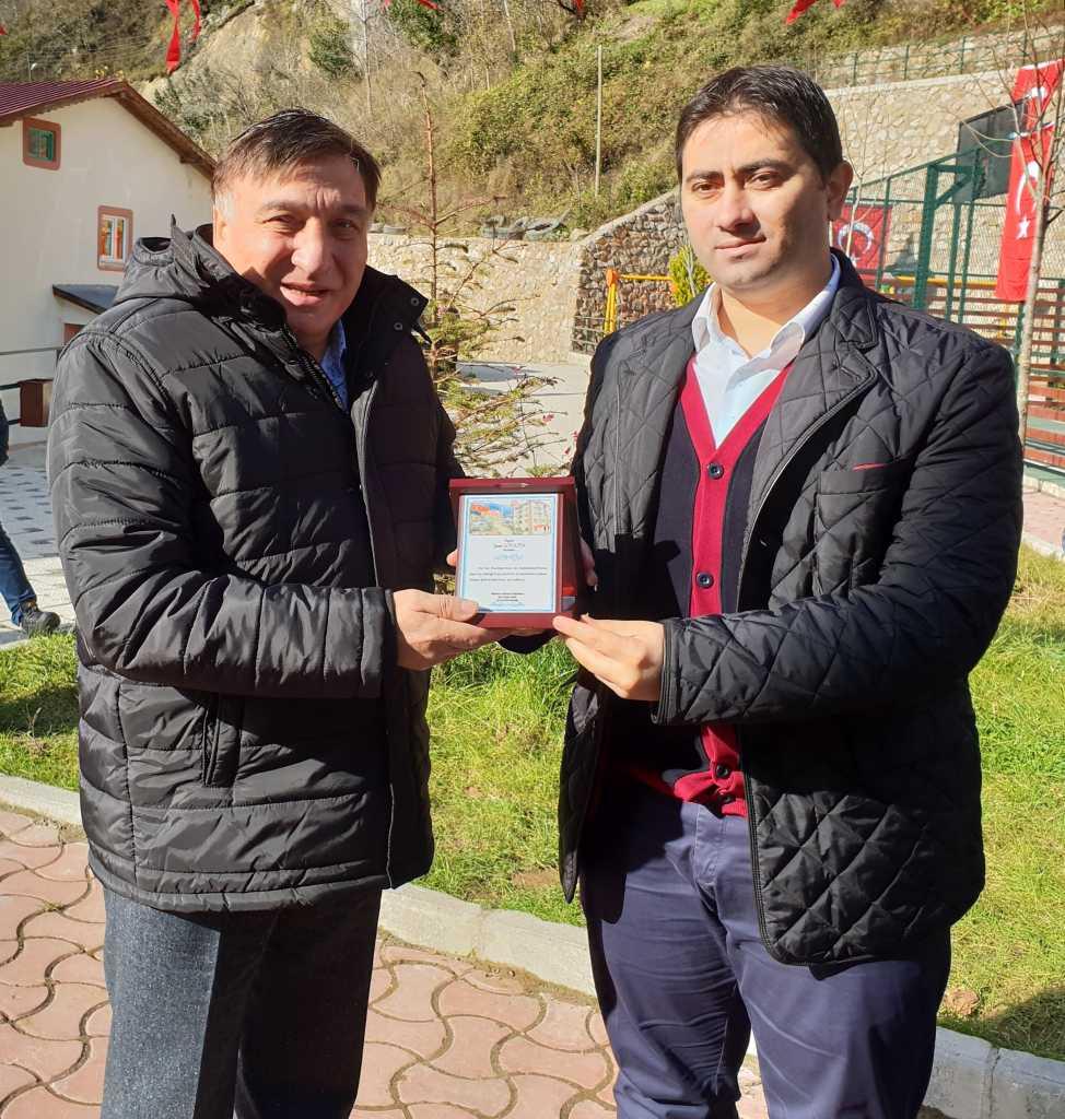 Kur'an kursuna ait modern spor sahası ve oyun parkının açılısı yapıldı 8