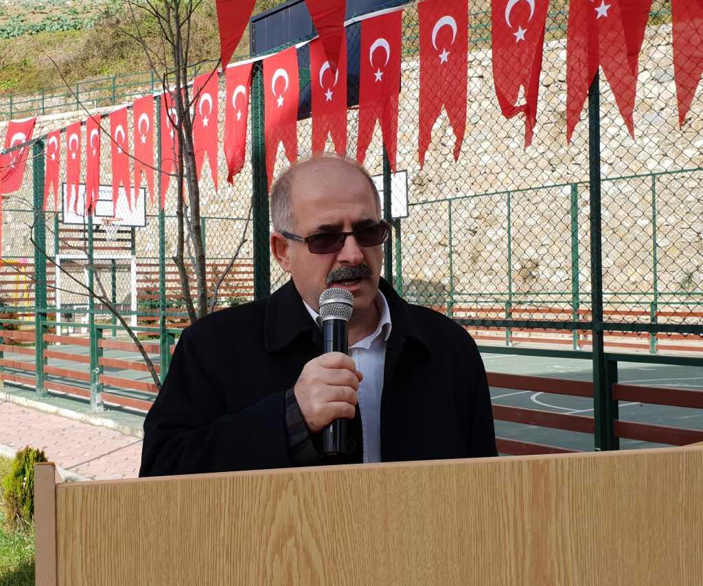 Kur'an kursuna ait modern spor sahası ve oyun parkının açılısı yapıldı 7