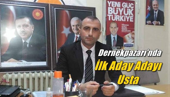 Ak Partide Dernekpazarı için ilk aday aday Zeki Avni Usta