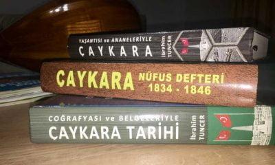 Çaykara kitapları ABD'de Üniversite kütüphanesinde yerini aldı