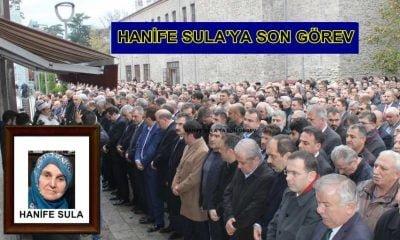 Köseoğlu'nun Annesi Hanife Sula son yolculuğuna uğurlandı