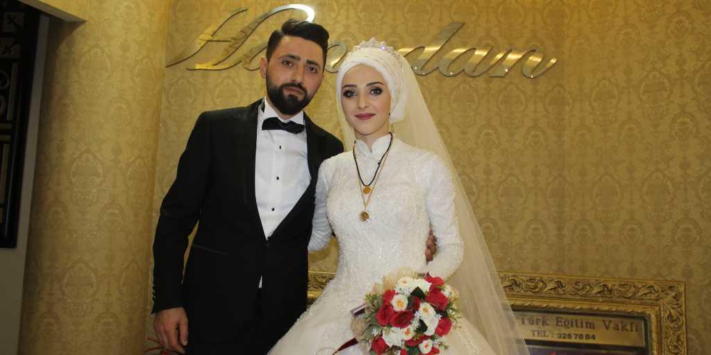 Masal tadında düğün