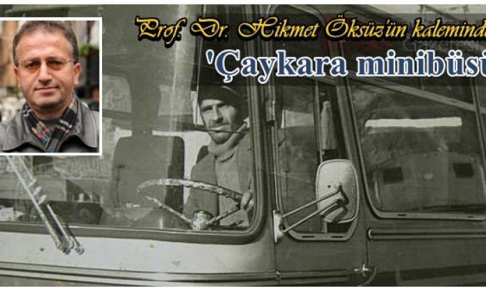 Çaykara minibüsü