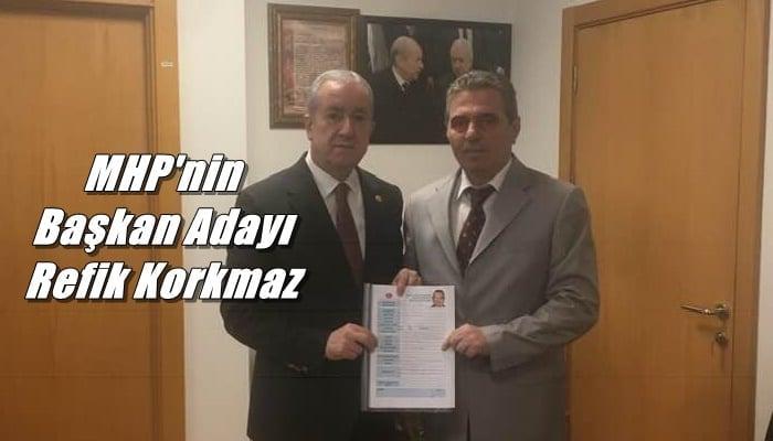 MHP'nin Çaykara Belediye  başkan adayı Refik Korkmaz oldu