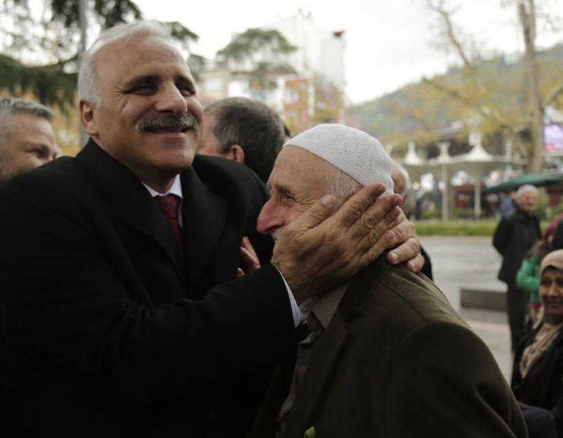 Trabzon'a gelen Murat Zorluoğlu coşkuyla karşılandı 4