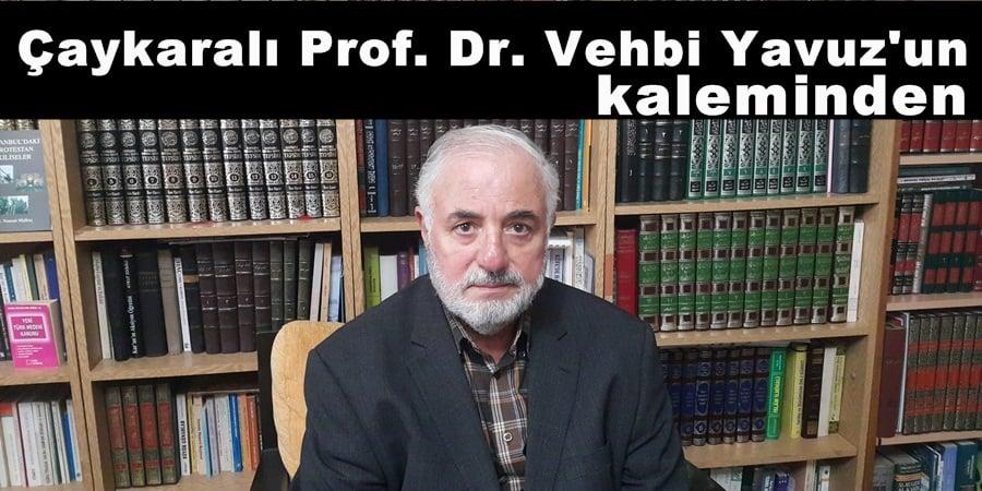 Prof. Dr. Vehbi Yavuz kaleminden Devlet Yönetimi