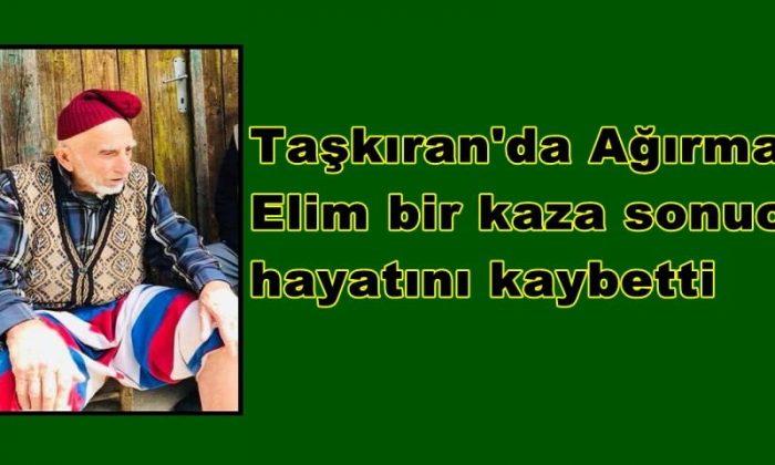 Taşkıran'da Ahmet Ağırman vefat etti