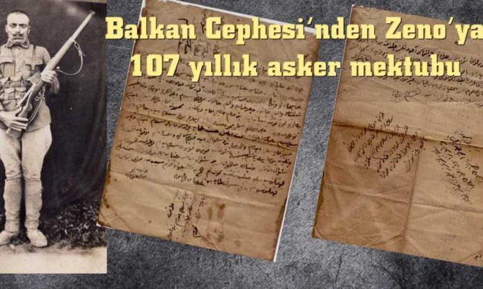 Zenolu Uzunmehmedoğlu Osman'ın 107 yıllık asker mektubu