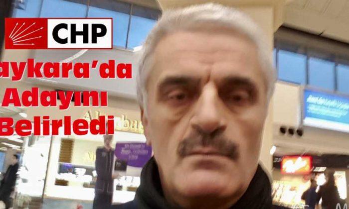 CHP'nin Çaykara Belediye Başkan Adayı Hasan Düzgün oldu