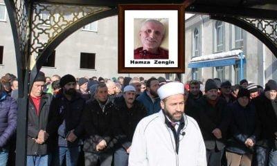 Hamza Zengin sonsuza uğurlandı