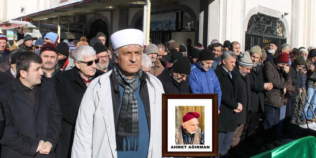 Ahmet Ağırman'a son görev