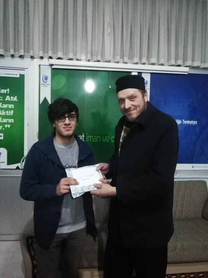 Çaykara'da Siyer-i Nebi ödülleri sahiplerini buldu 3