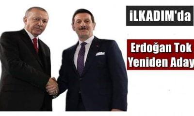 Samsun İlkadım'da Erdoğan Tok yeniden aday