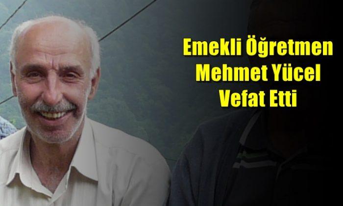 Yeşilalan'da Mehmet Yücel vefat etti