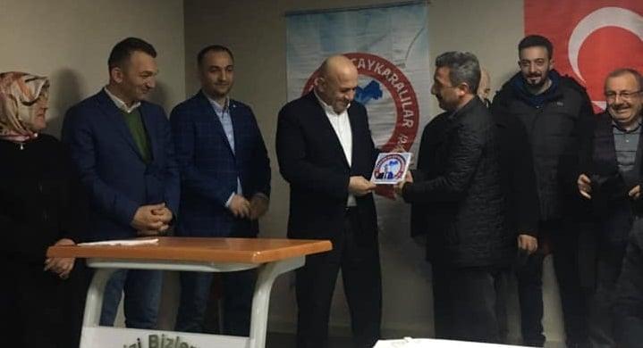 Trabzon ve Çaykaralılar derneği seçime gitti 1