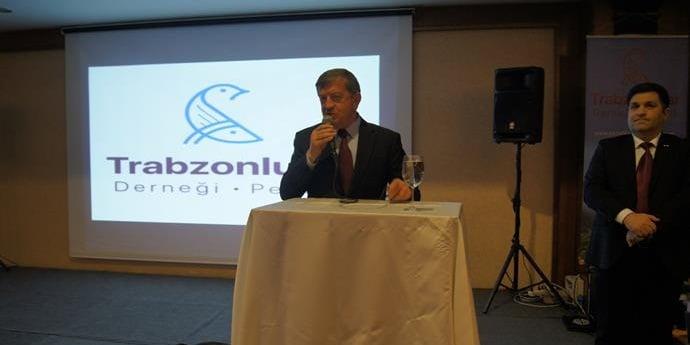 Zorluoğlu İstanbul'da Trabzonlularla buluştu 4