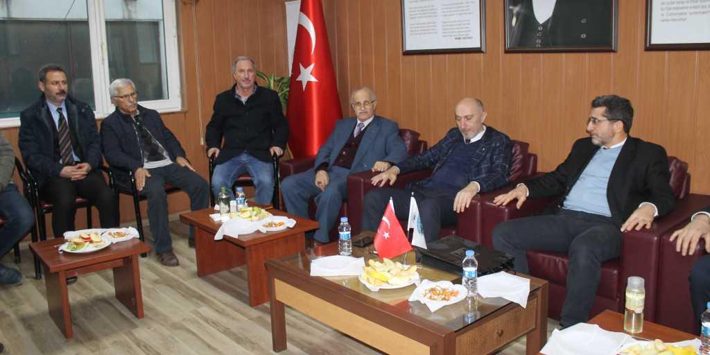 CHP den Çaykara-Dernekpazarı lokaline ziyaret 2