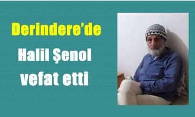 Derindere'de Halil Şenol vefat etti