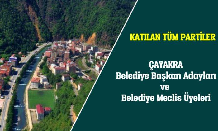 Çaykara Belediye Başkan Adayları ve Belediye Meclis Üyeleri
