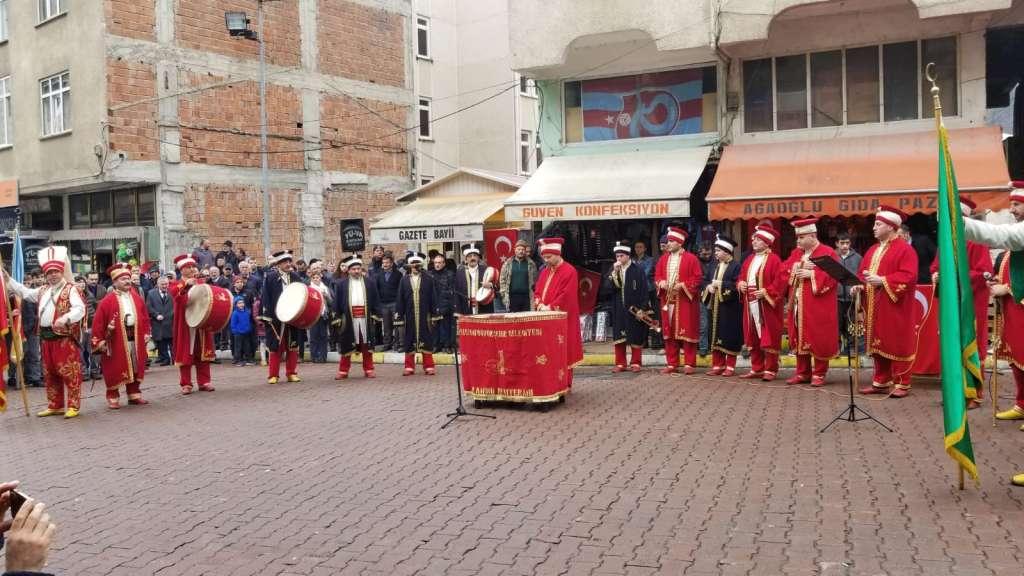 Çaykara'nın Kurtuluşunun 101. Yıl dönümü törenlerle kutlandı. 4
