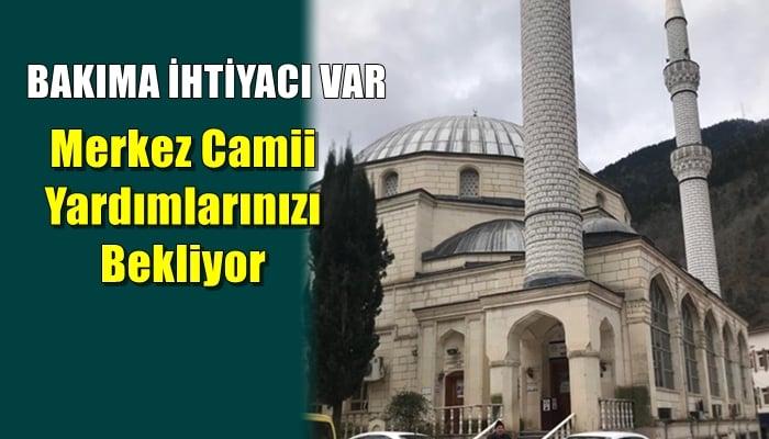 Merkez Camii için dernek kuruldu