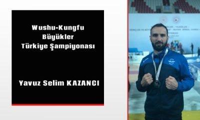 Bir Şampiyon da Wushu-Kungfu da
