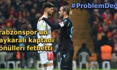 Trabzonspor'un Çaykaralı kaptanı haftanın olayına imza attı