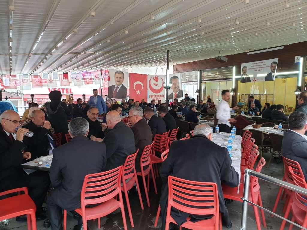 Büyük Birlik Partisi Genel Başkanı Mustafa Destici Çaykarayı ziyaret etti 10