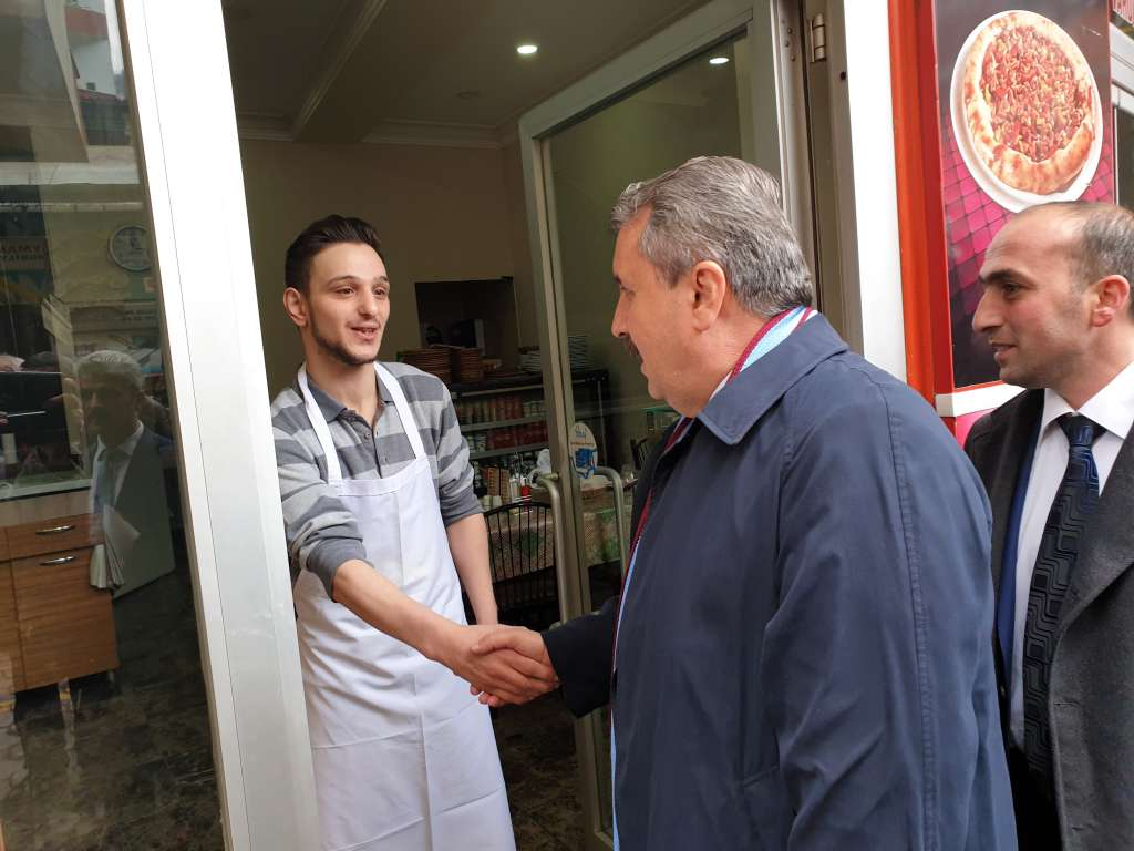Büyük Birlik Partisi Genel Başkanı Mustafa Destici Çaykarayı ziyaret etti 6