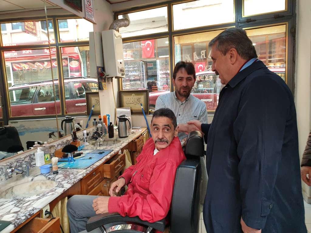 Büyük Birlik Partisi Genel Başkanı Mustafa Destici Çaykarayı ziyaret etti 8