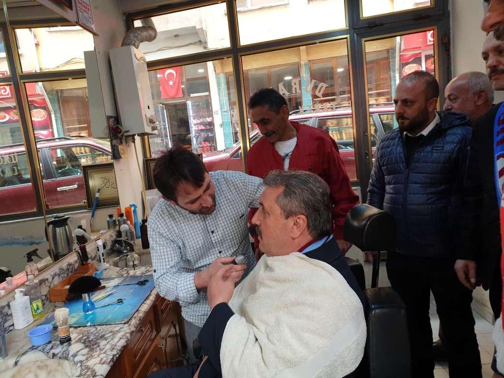 Büyük Birlik Partisi Genel Başkanı Mustafa Destici Çaykarayı ziyaret etti 9