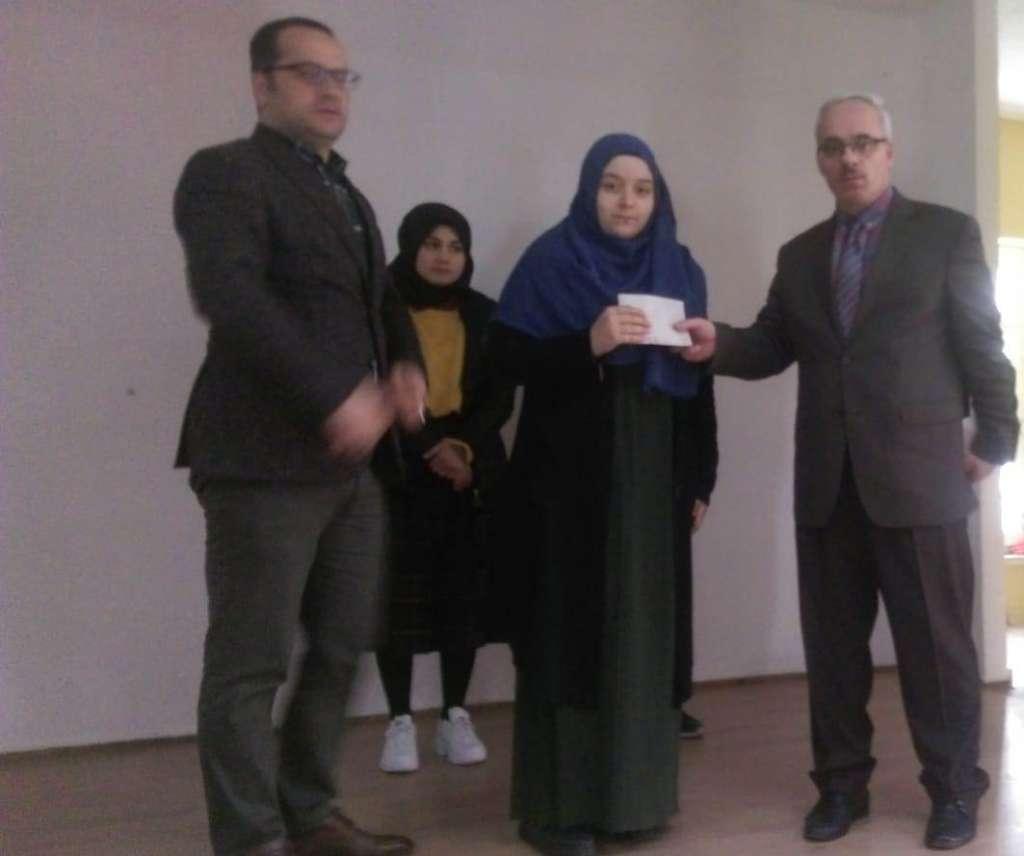 """Çaykara'da Liseler arası """"Çanakkale Şehitlerine"""" şiir okuma yarışması düzenlendi 2"""