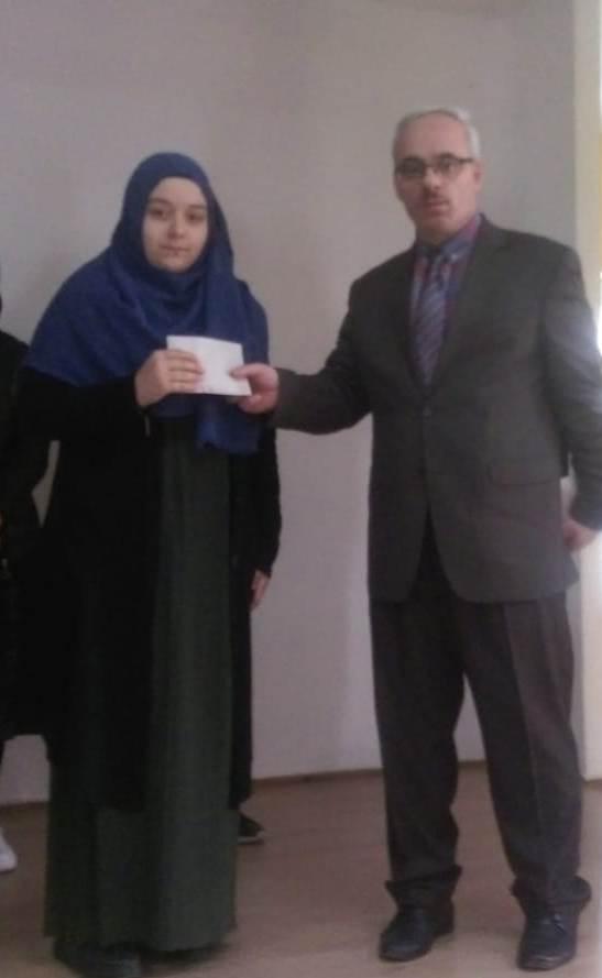 """Çaykara'da Liseler arası """"Çanakkale Şehitlerine"""" şiir okuma yarışması düzenlendi 3"""
