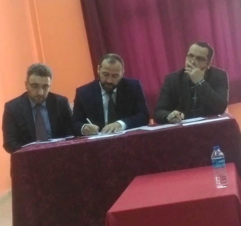 """Çaykara'da Liseler arası """"Çanakkale Şehitlerine"""" şiir okuma yarışması düzenlendi 4"""