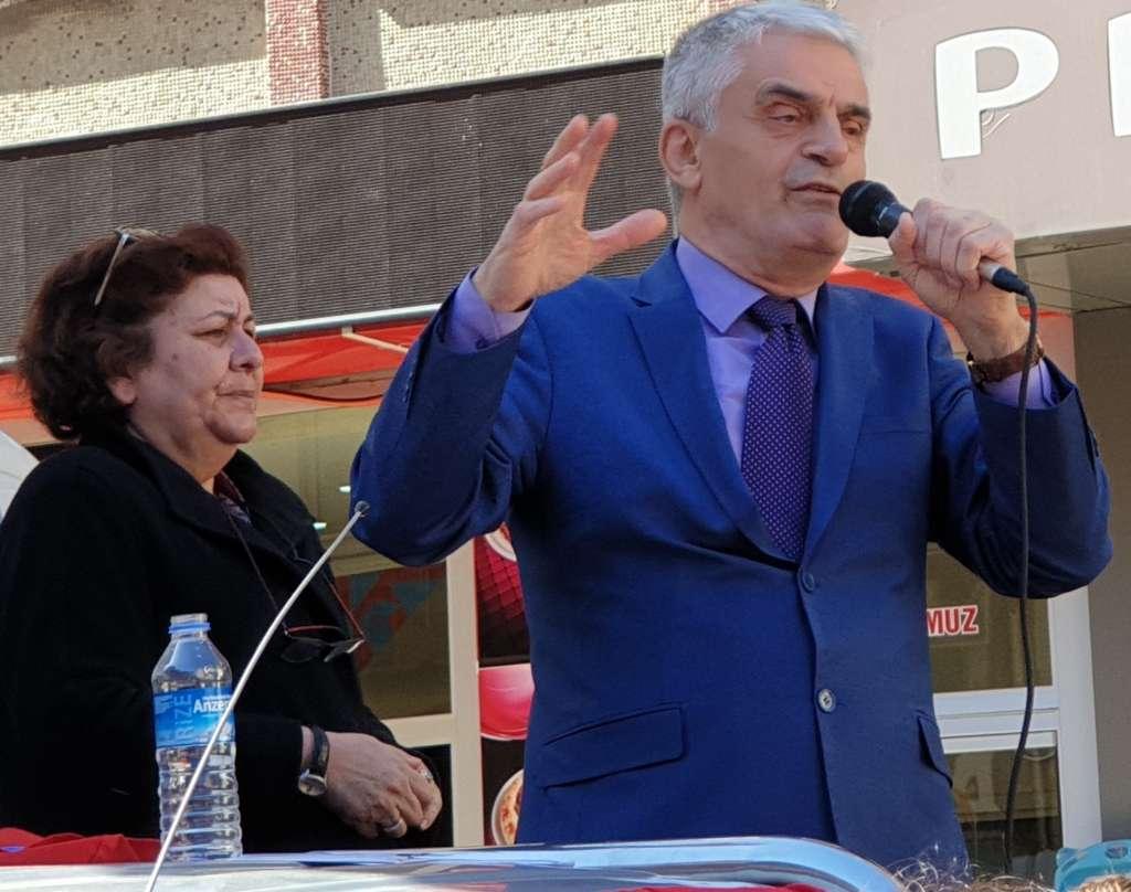 CHP Belediye Başkan adayı Hasan Düzgün Projelerini açıkladı 1