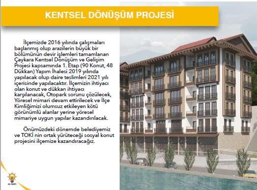 Cumhur İttifakı Adayı Başkan Hanefi Tok Projelerini açıkladı 12