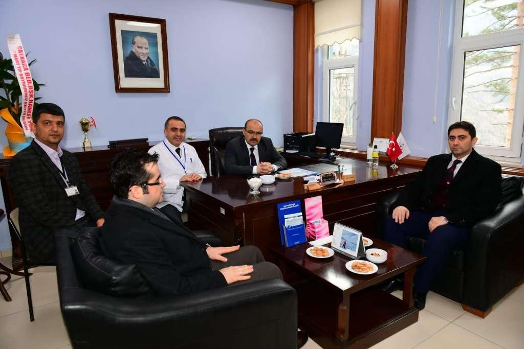 Trabzon Valisi İsmail Ustaoğlu Ataköy Ruh ve Sinir Hastalıkları Hastanesini ziyaret etti. 4