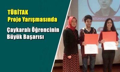 TÜBİTAK Proje yarışmasında Nehir Betül Yıldırım Erzurum Bölge Birincisi oldu