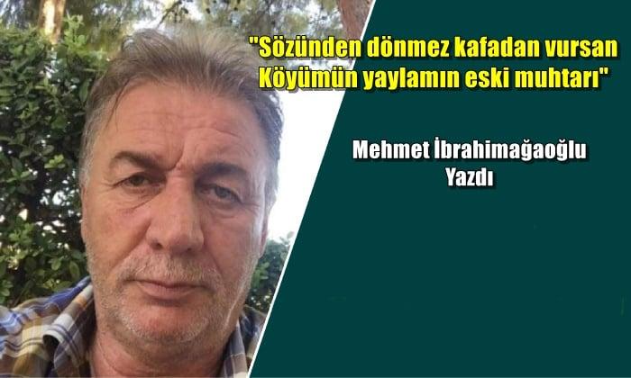 Kardeşim Yusuf Ziya Topaloğlu'na