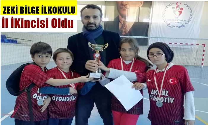 Zeki Bilge İlkokulu Badmintonda Trabzon ikincisi oldu