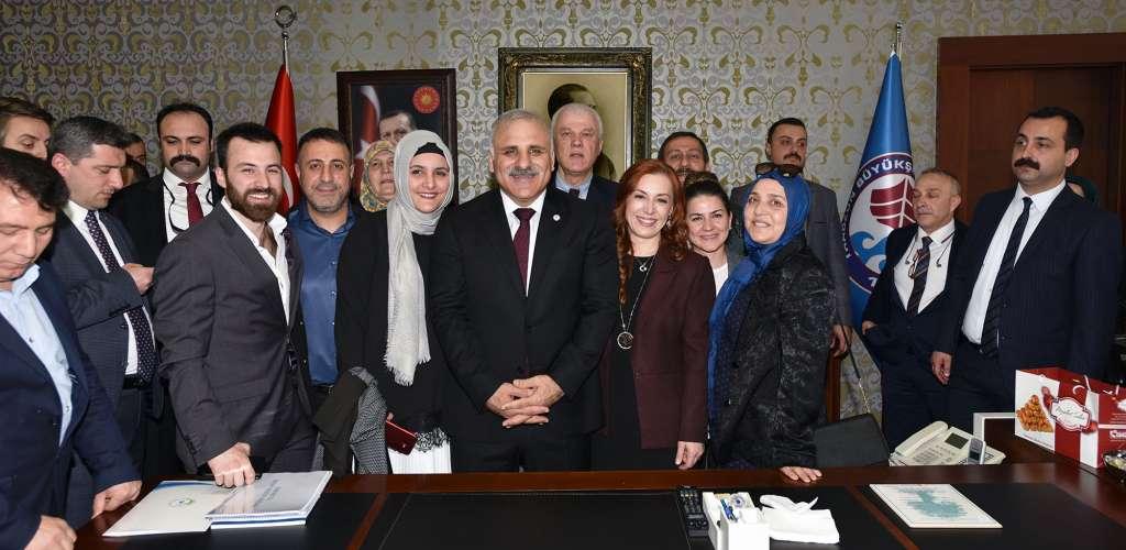 """Başkan ZORLUOĞLU: """"Bugün Benim Ve Şehrim İçin Özel Bir Gün"""" 1"""