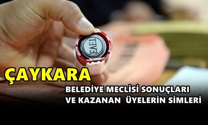 Çaykara Belediyesi Meclis Üyesi sonuçları ve kazananların üyelerin isimleri