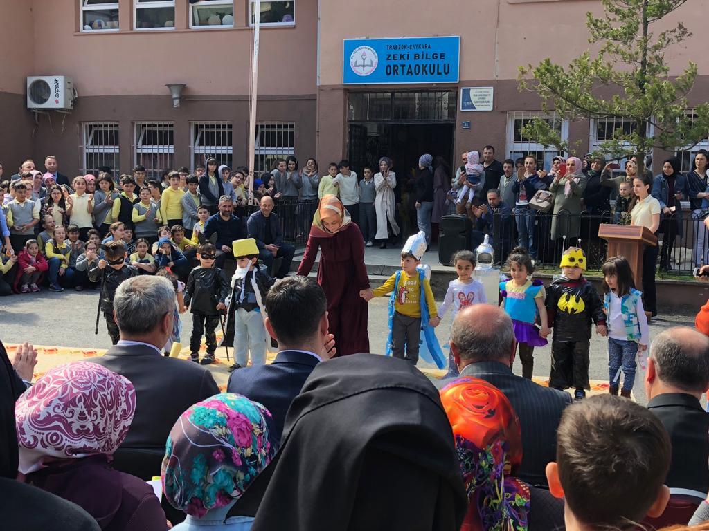 Fatma Bilge Anaokulu'ndan Sıfır Atık Projesi 8