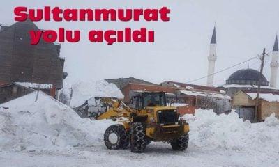 Sultanmurat yolu açıldı