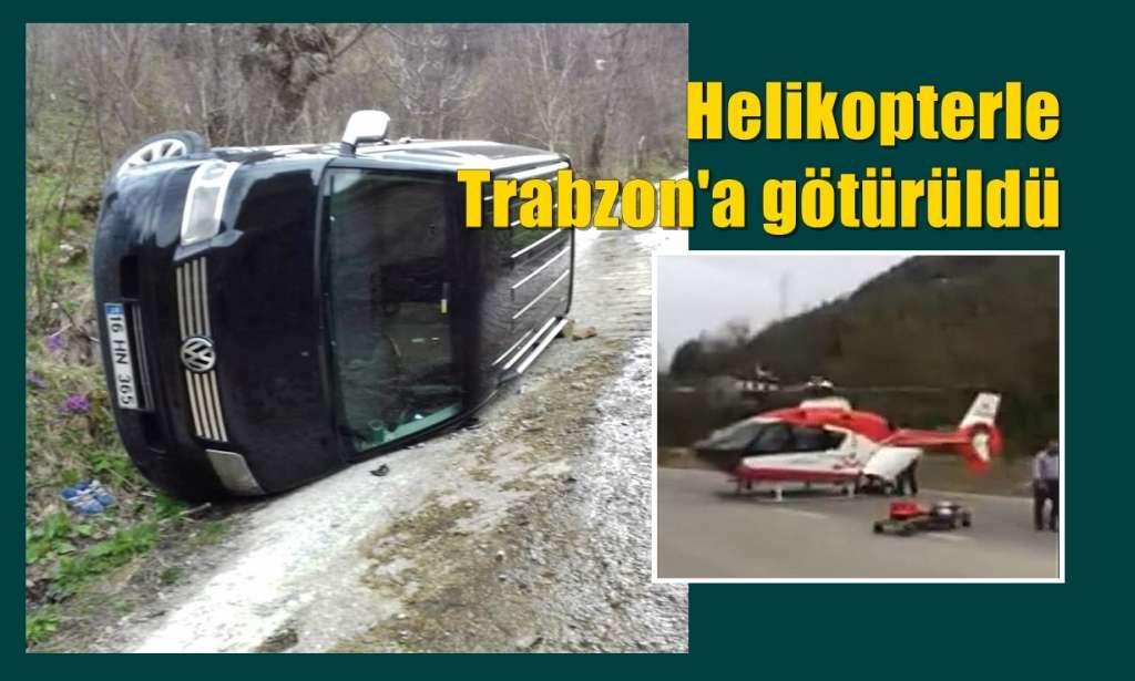 Uzuntarla Mahallesinde kaza!