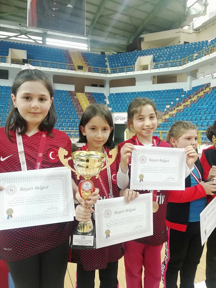Zeki Bilge İlkokulu Masa Tenisinde Trabzon şampiyonu oldu 3