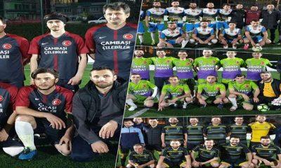 Çaykara Kaymakamlık Kupası maçlarına 3 grupta devam edildi
